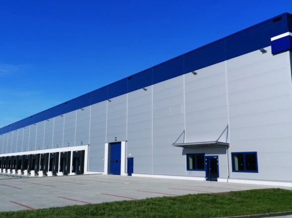 New warehouse in Lodz